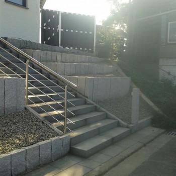 Treppe - Palisaden