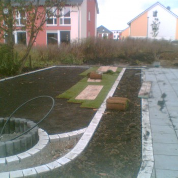 Rollrasen - Gartengestaltung